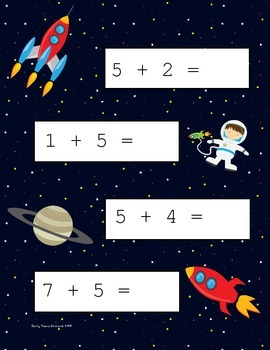 Space Addition Fives