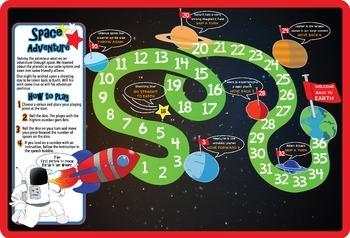 Space Adventure Board Game
