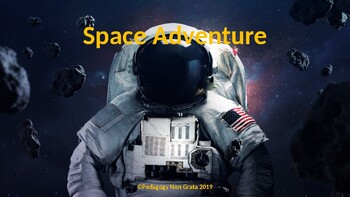Space Adventure Reading Smart Board Game: Grade 5: Level 2