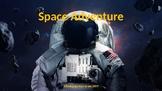 Space Adventure Reading Smart Board Game: Grade 5: Level 2
