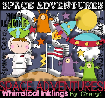 Space Adventures Clipart
