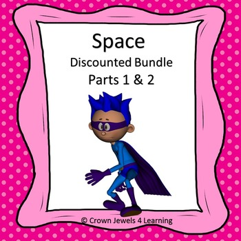 Space Adventures Complete Bundle- PPTs, Structured Notes, Interactive NBs, Tests
