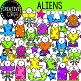 Space Alien Clipart {Creative Clips Clipart}