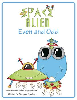 Space Alien Even and Odd