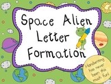 Space Alien Letter Formation Pack - Handwriting Made Fun!
