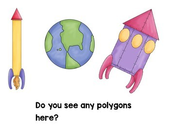 Space Alien Polygons