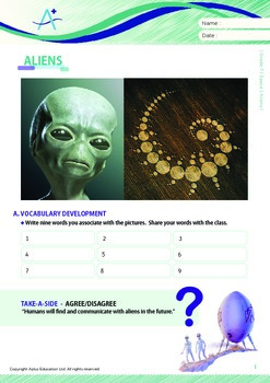 Space - Aliens - Grade 7