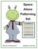 Space Aliens Patterning Set