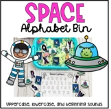 Space Alphabet Bin