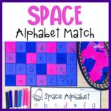 Space Alphabet Match