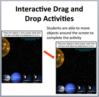 Space - An Introduction - Digital Interactive Notebook Pages
