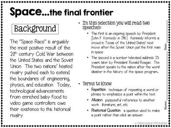 Space: Analyzing Presidential Speeches of John F. Kennedy & Ronald Reagan