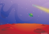 Space Animation Background part 1