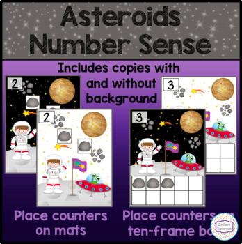Space Asteroids Number Sense
