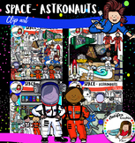 Space- Astronauts- Big set of 88 items!!