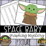 Space Baby Graphing Mystery Picture