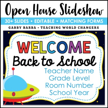 Space Back to School PowerPoint