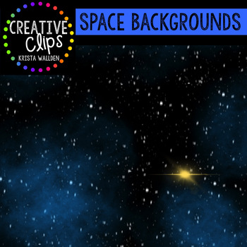 Space Backgrounds {Creative Clips Digital Clipart}