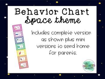 Space Behavior Chart