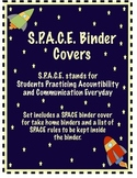 Space Binder & Rules {Space Theme}