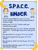 Space Binder and Rule Pages