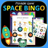 Space Bingo Game
