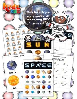 Space Bingo / Matching Game