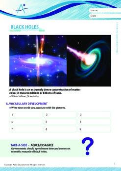 Space - Black Holes - Grade 9