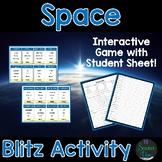 Space Blitz Activity