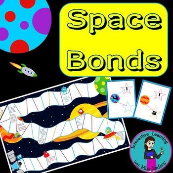 Space Bonds {Number Bonds Board Game}