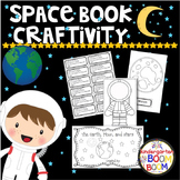 Kindergarten Sun, Moon, Stars, Space Book Activity