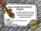 Space Booklet Project!