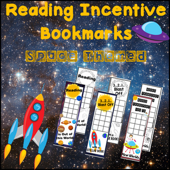 Space Bookmarks - Reading Incentive