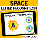 Space Boom Cards Uppercase Letter Recognition