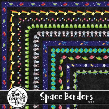 Space Borders Set 2