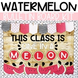 Summer Watermelons Bulletin Board or Door Kit
