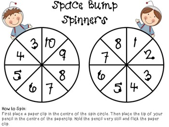 Space Bump - A Take Away (Subtraction) Game