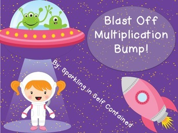 Space Bump- Multiplication facts 2-12