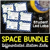 Space Labs Bundle - Differentiated Science Station Labs