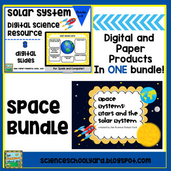Space Bundle: Digital Research Activity and NGSS Space Pack