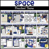Space Bundle | Math & Literacy Centers