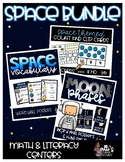 Space Bundle Math and Literacy Centers