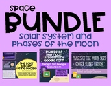 Space Bundle -Phases of the Moon and Solar System - Distance Learning