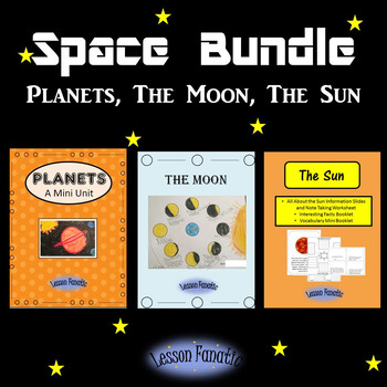 Space Bundle: Planets, the Moon, The Sun