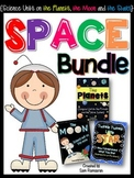 Space Bundle {Science Units on the Moon, the Planets and t