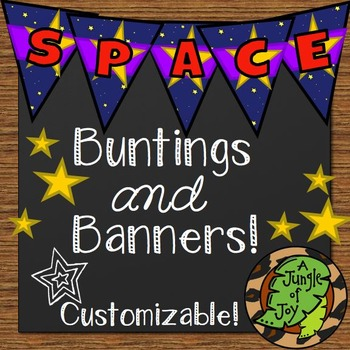 Space Buntings and Banners