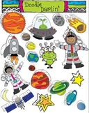 Space COMBO Clipart