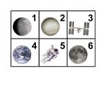 Space Calendar Cards