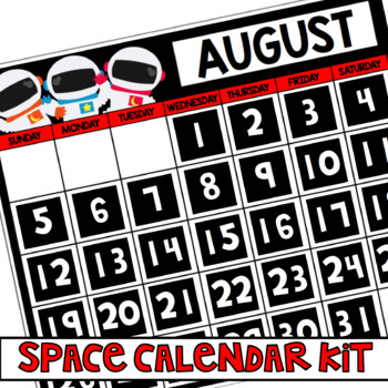 Space Calendar Kit