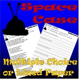 Space Case * Edward Marshall * Halloween Comprehension Worksheets
